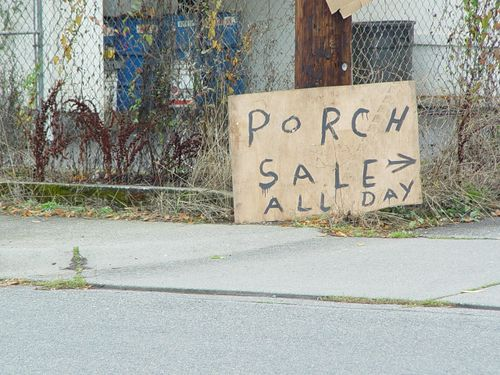 Porch Sale