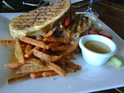 Asado-sandwich