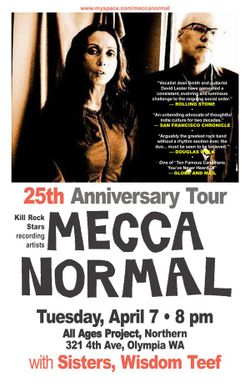 Mecca Normal Flyer